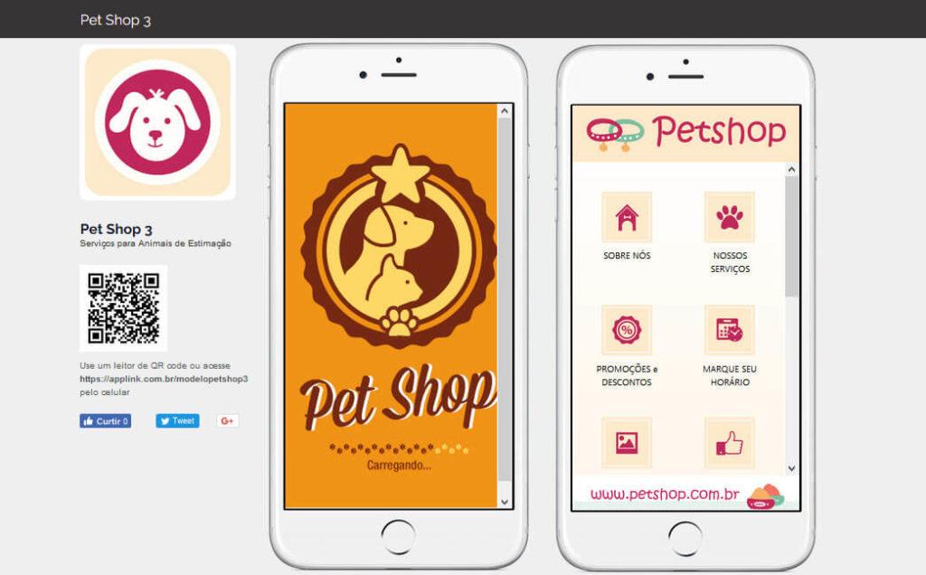Aplicativo para PetShop