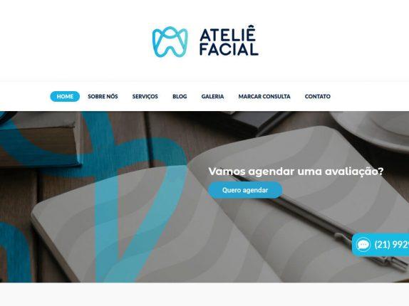 Atelie Facial Clinica odontologica portfolio fortesweb