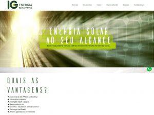 IG Energia Renovável portfolio fortesweb