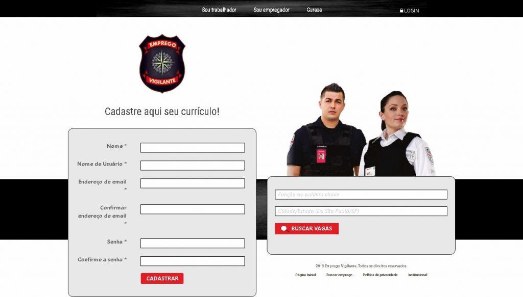 Portfolio, Sites , Emprego ,vigilante, empregovigilante, fortesweb
